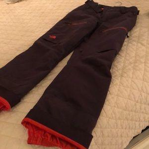 North Face snow/ski pants